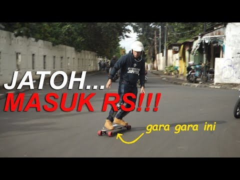 ELECTRIC SKATEBOARD REVIEW INDONESIA