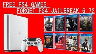 How I Download Free PS4 Games - Forget PS4 Jailbreak 6.72