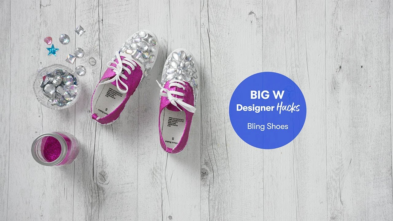 Bedazzled Bling Shoes   BIG W