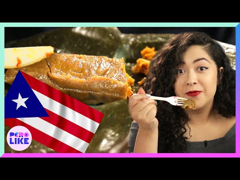 People Try Puerto Rican Pasteles