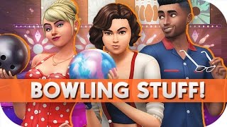 THE SIMS 4 // BOWLING NIGHT STUFF  — OVERVIEW/GAME PLAY