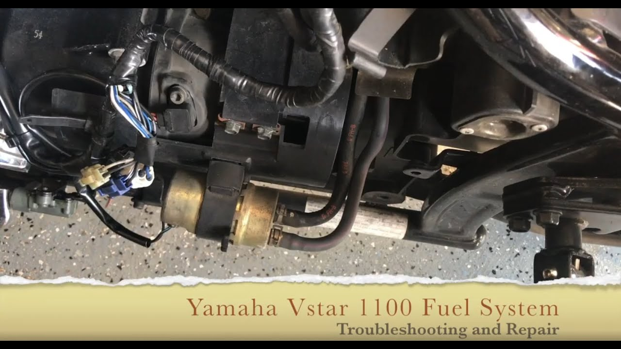 Yamaha VSTAR 1100 Fuel System Testing and Troubleshooting - From The Fuel  Tank to the Carbs - YouTube | 2003 Yamaha V Star 1100 Fuse Box Location |  | YouTube