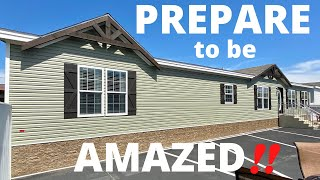 You MUST see this brand new mobile home just being released!! Mobile Home Masters Tour