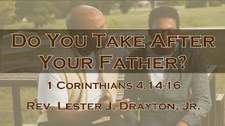 Do You Take After Your Father?
