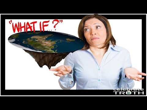 WHAT IF THE EARTH WAS ACTUALLY FLAT? thumbnail