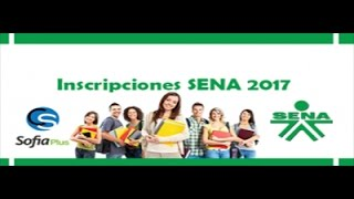 Cursos SENA 2017 ✓