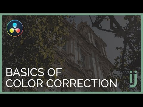 The Basics Of Color Correction In Davinci Resolve