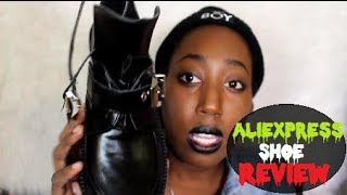"""Jeffery Campbell -""""Coltrane"""" Cut-out Inspired Boots