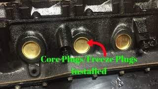 How To Install 302/351 Core Plugs/Freeze Plugs Fox Body Budget Build