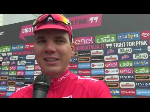 Rein Taaramäe - 16th stage Giro d'Italia 2016 - pre-race interview
