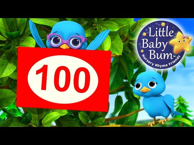 The Number Song 10-100 | Little Baby Bum | Nursery Rhymes for Babies | Songs for Kids
