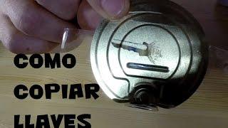 Como copiar una llave en casa - Experimentos en casa