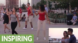 Video Jersey City surprise flash mob marriage proposal download MP3, 3GP, MP4, WEBM, AVI, FLV Agustus 2018