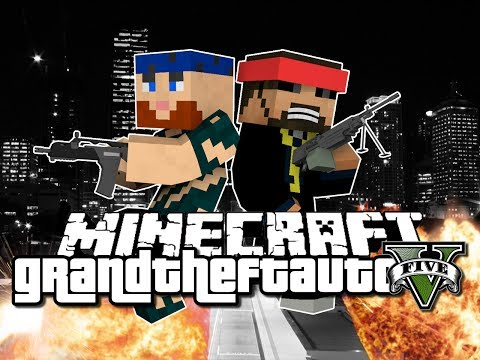 Minecraft Grand Theft Auto Mod - IT ALL STARTS HERE (GTA 5)