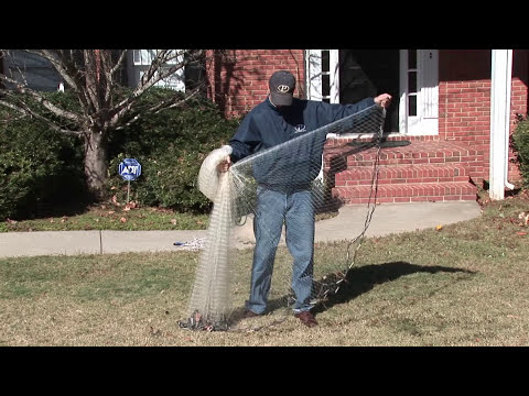 How To Throw A Cast Net - No Teeth, Stay Dry, Easy Way