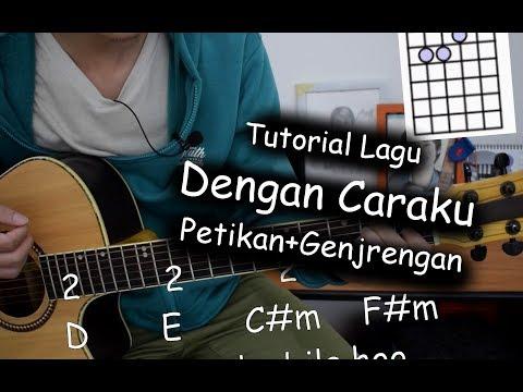 Belajar Gitar (Dengan Caraku - Arsy Widianto Ft Brisia Jodie)