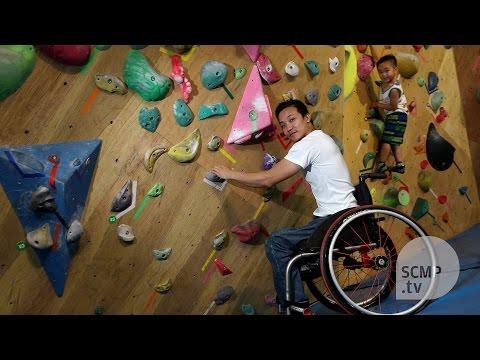 Lion Rock spirit: the inspiring tale of paraplegic climber Lai Chi-wai