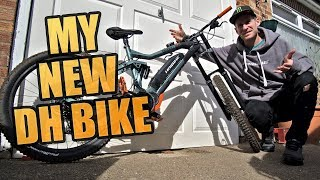 MY NEW DOWNHILL BIKE IS EPIC!