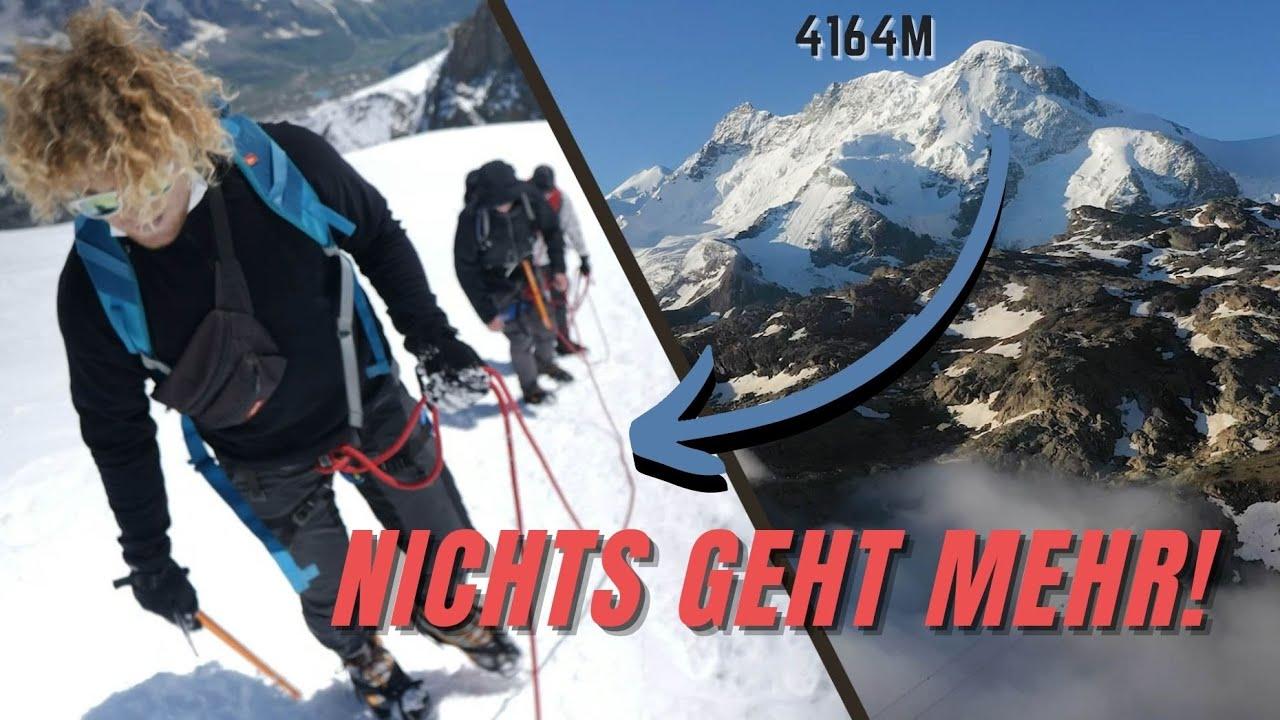 Schaffen WIR es einen 4164m Berg OHNE ERFAHRUNG zu besteigen mit  @DAVE  -Blue Horizon-