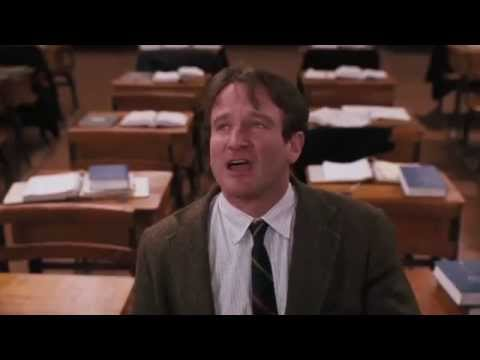 Words And Ideas, Can Change The World - Carpe Diem - Seize The Day - Robin Williams
