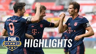 Bayern Thumps Leverkusen, But Lose Lewandowski, Müller For Next Match | 2020 Bundesliga Highlights