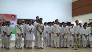 Group Song on independence day 2015 in K V GAIL jhabua