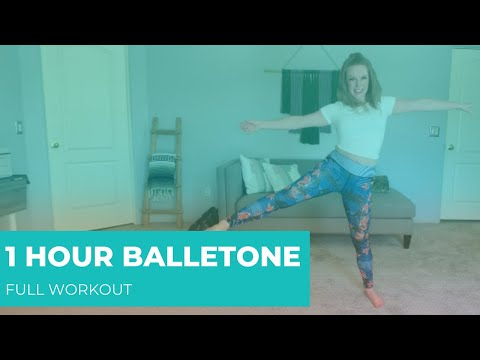 Balletone Full Workout | 1 Hour