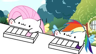 Keyboard Ponies Animation (Bongo Cat/MLP Parody)