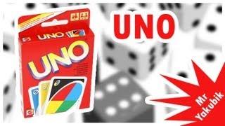 Видео обзор настольной игры Uno