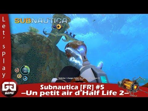 SubNautica [FR] #5 : On continue à suivre la piste des capsules.