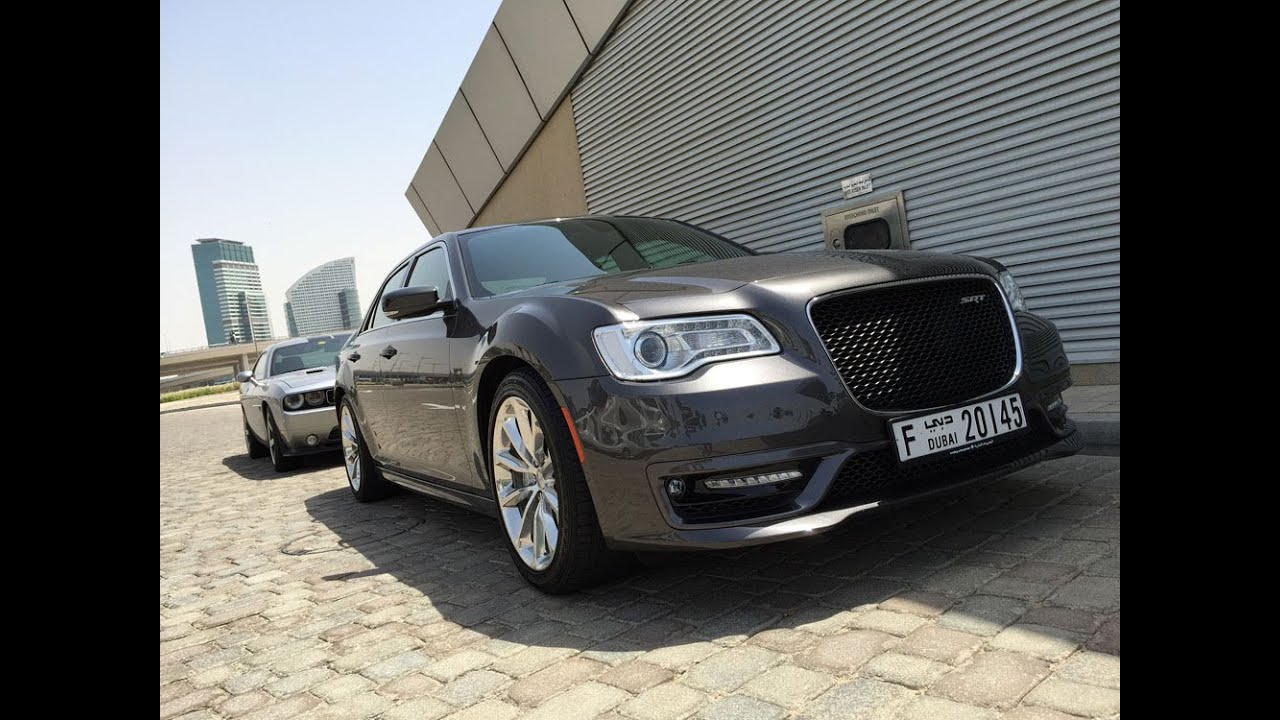 2015 chrysler 300 srt8 first drive in dubai doovi. Black Bedroom Furniture Sets. Home Design Ideas
