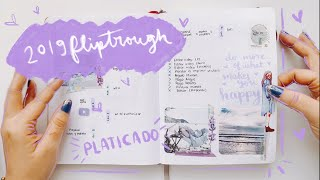 Flip-through Bullet Journal 2019 (Platicado) | Pulga Haza