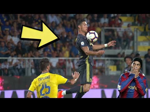 Cristiano Ronaldo 15 Ridiculous First Touches 😮