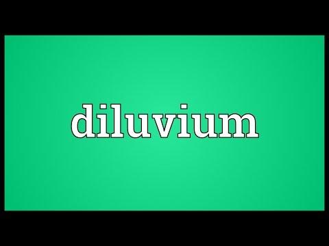 Header of diluvium