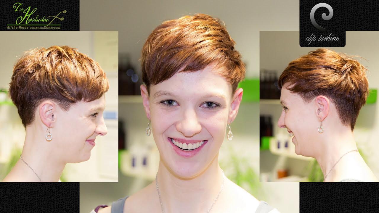 medium wavy hair short pixie