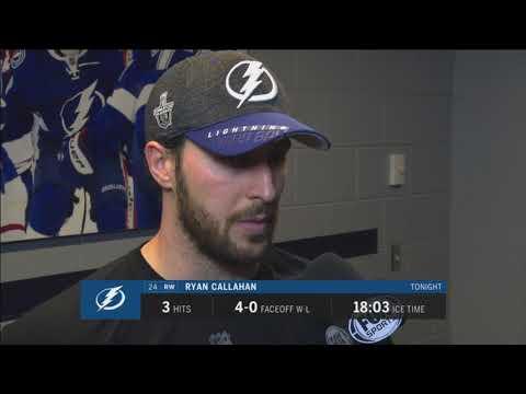 Ryan Callahan -- Tampa Bay Lightning vs. Toronto Maple Leafs 02/26/2018