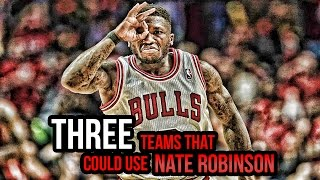 "3 NBA Teams That Could Use NATE ROBINSON - Return Of Nate ""The Great""?"
