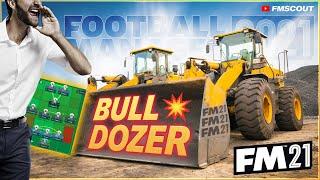 DEVASTATING Bulldozer Tactic | Bęst FM 2021 Tactics