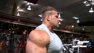 Jay Cutler 2011 Olympia Prep - Arms Part 1 Triceps