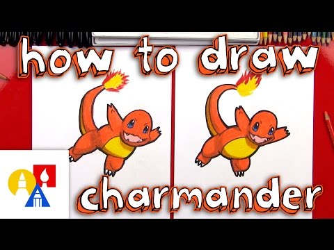 How To Draw Charmander Pokemon