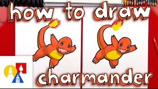 How To Draw Charmander + Pokemon Giveaway