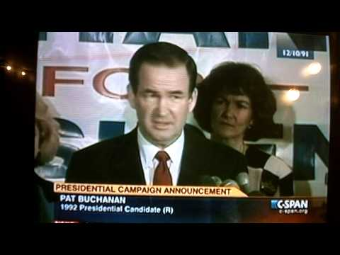 The great PATRICK J. BUCHANAN (1992)