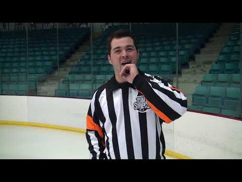 Blowing Your Whistle   Tips For Hockey Referees
