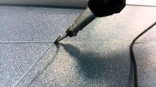 Сварка линолеума(3)(Горячая сварка линолеума шнуром., 2015-10-30T07:34:47.000Z)