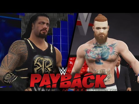 WWE Payback 2016 - CONOR MCGREGOR DEBUTS & WINS THE WWE CHAMPIONSHIP!! | WWE 2K16