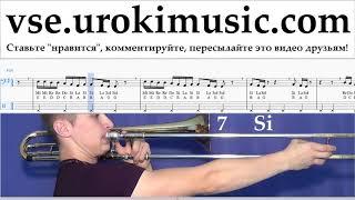 Как играть на Тромбоне Drake - God's Plan Табы um-i821