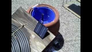 Solar Powered Water Fountain - Simple Diy Water Feature (for Pond/birdbath Or Other Display)