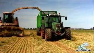 """ZBIÓR KISZONKI NA GPS z pokosu """"AGRO-MERKURY"""" Usługi Rolnicze"""