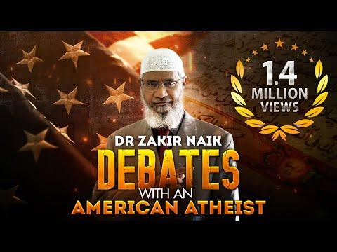Dr Zakir Naik Debates with an American Atheist