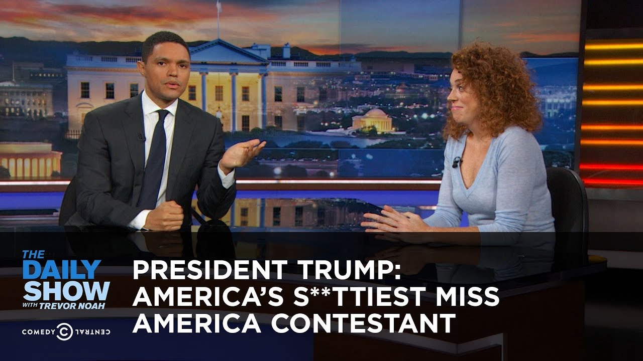 President Trump: America's S**ttiest Miss America Contestant: The Daily Show